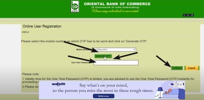 Online OBC Net Banking Activate कैसे करें