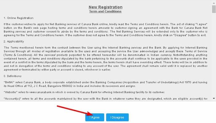 Canara Net Banking रजिस्ट्रेशन कैसे करे